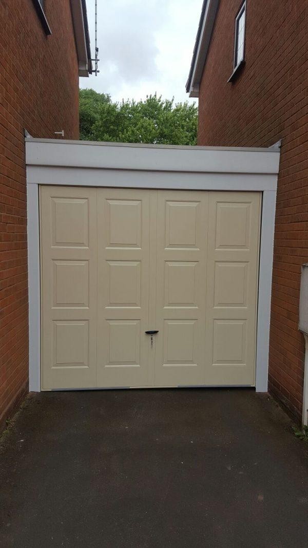 ivory up and over garage door