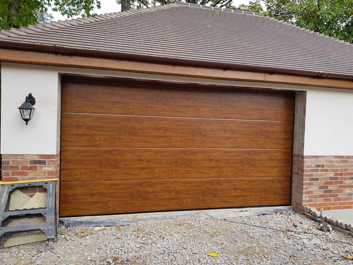 Hormann Wooden Sectional Garage Door Oct 18