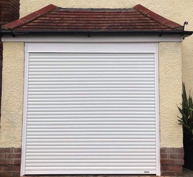 White Roller Garage Door Solihull Mar 19