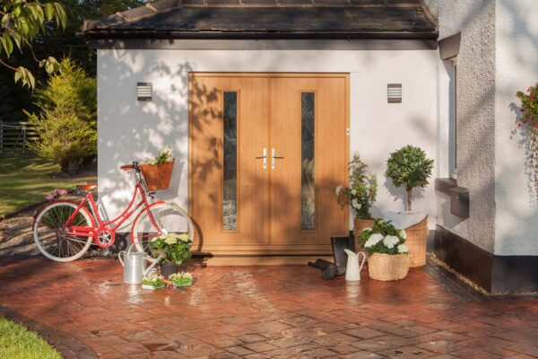 Solidor Composite French Doors