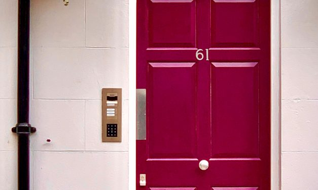 The Rise In Bold Coloured Front Doors